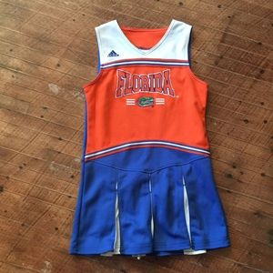Adidas Florida Gators 10/12 cheerleader outfit